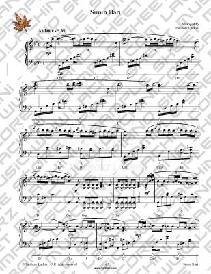 Simin Bari Sheet Music
