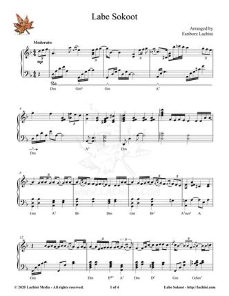 Labe Sokoot Sheet Music