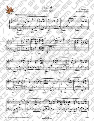 Taghat Sheet Music