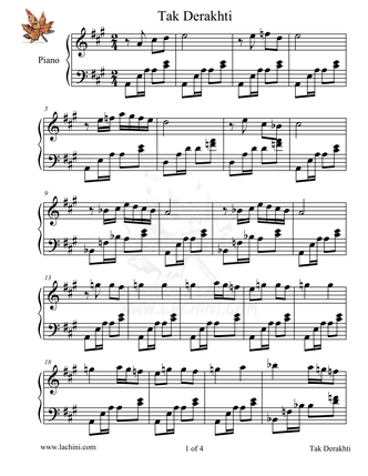 Tak Derakhti 音乐页