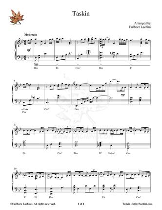 Taskin Musiknoten