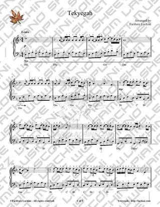 Tekyegah 2 Sheet Music