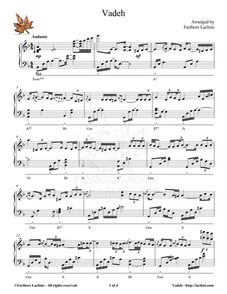 Vadeh 音乐页