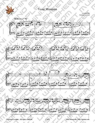 Vasat Mimiram 音乐页