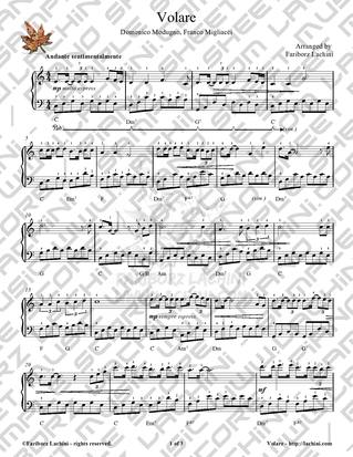 Volare Sheet Music