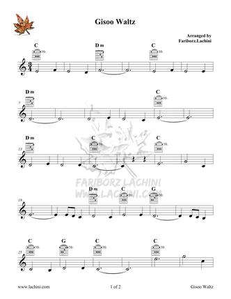 Gisoo Waltz 音乐页