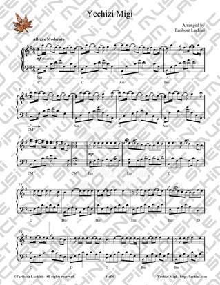 Yechizi Migi 音乐页